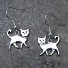 Happy cat earrings E68